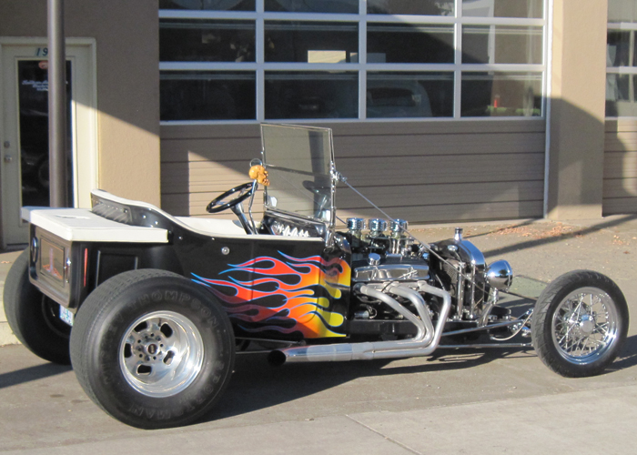 Bob Borum T-Bucket Hot Rod Street Rod Roadster