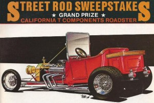 "1985 Street Rodder ""Project California T"" Sweepstakes T-Bucket Lives"