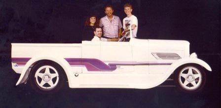 Bill and Jerry Keifer Roadster Kid