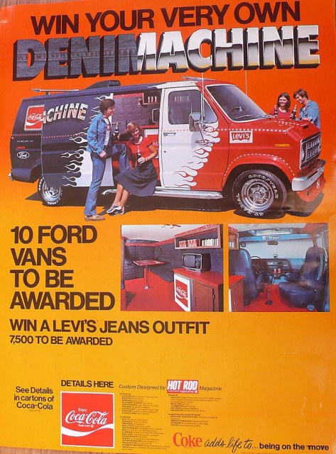 Levis Denimachine Van Hot Rod