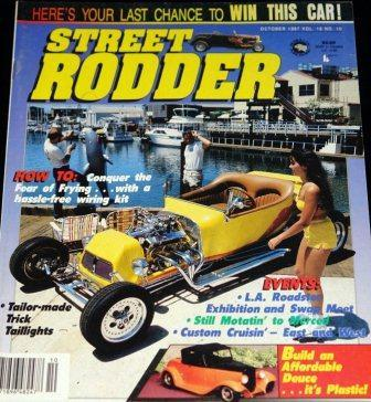 Street Rodder October 1987 CCR T-Bucket Giveaway