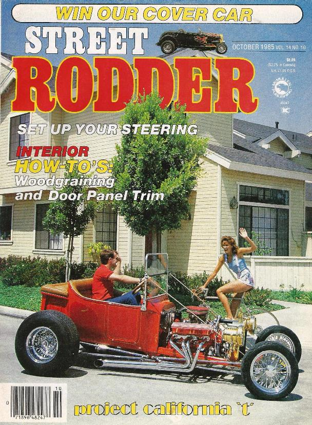Street Rodder magazine October 1985 Project California T Bucket