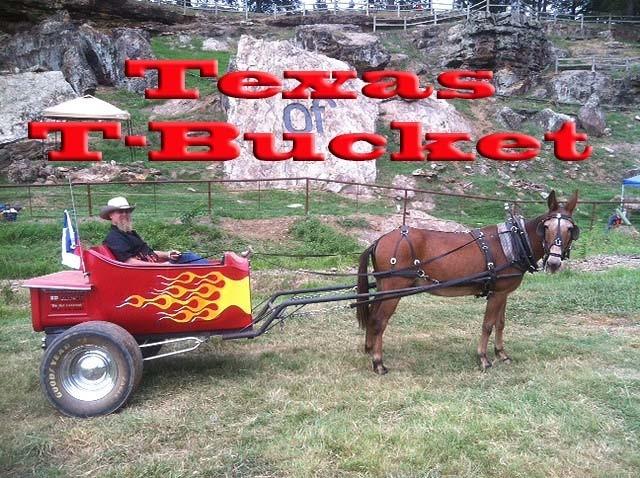 Mule-ster Texas T-Bucket.