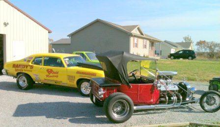 Troy Scott T-Bucket Roadster Total Performance