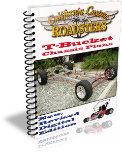 California Custom Roadsters CCR T-Bucket Chassis Plans