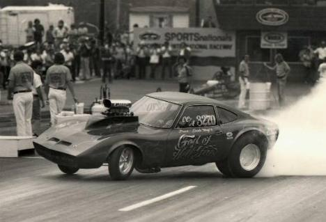 Frank Mazi Opel 76 God of Hellfire