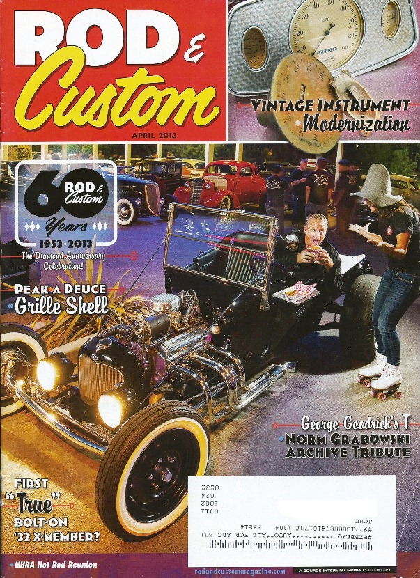 Rod and Custom April 2013 T-Bucket
