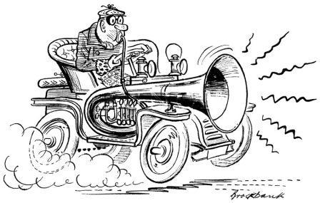 T-Bucket Hot Rod Horn