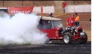 T-Bucket burnout