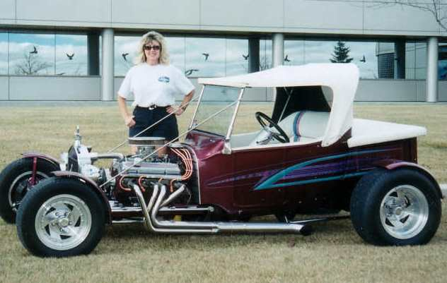 Hot Rod Liz Kitzul T-Bucket