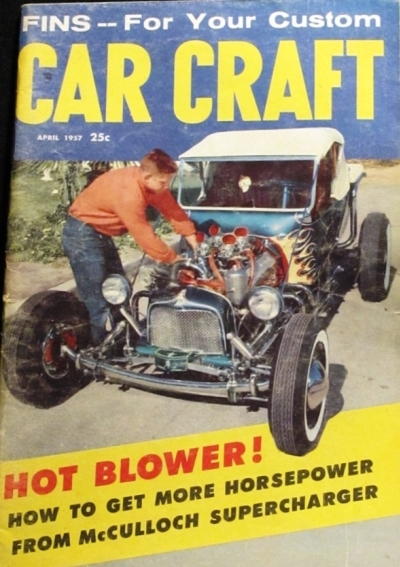 Norm Grabowski building a T-Bucket hot rod kookie car
