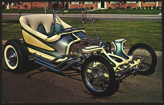 Ed Big Daddy Roth Outlaw custom fiberglass car body