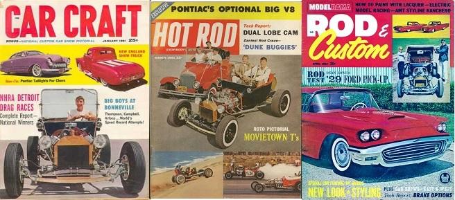 Marty Hollmann T-Bucket Hot Rod
