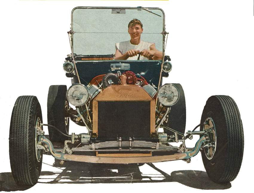 Marty Hollmann T-Bucket roadster