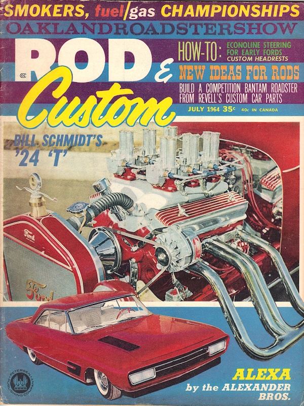 Rod and Custom July 1964
