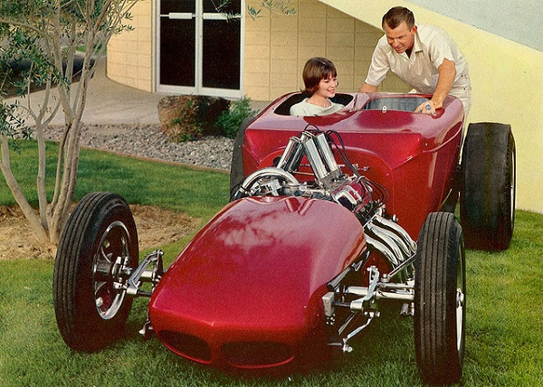 Chauvin Emmons Indianapolis 500 T-Bucket roadster