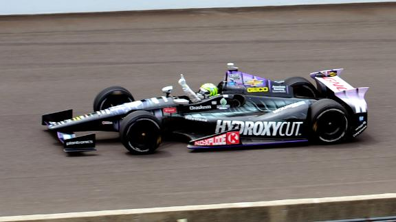 Chauvin Emmons T-Bucket roadster Tony Kanaan Indianapolis 500 2013