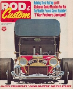 Dan Eichstedt Leg Show T-Bucket Rod Custom January 1971