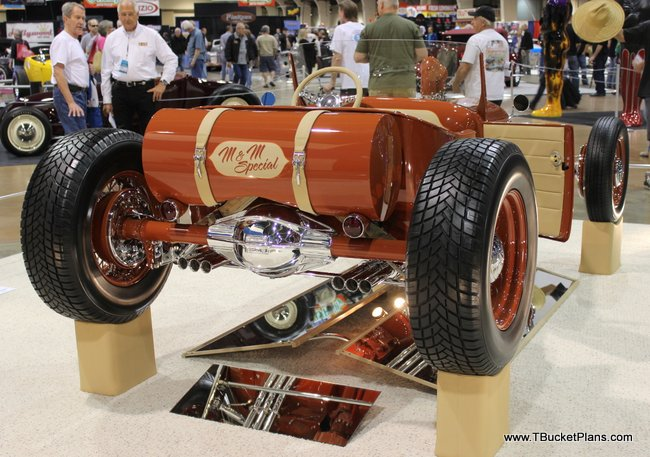 America's Most Beautiful Roadster 2014 Grand National Roadster Show T-Bucket Pomona