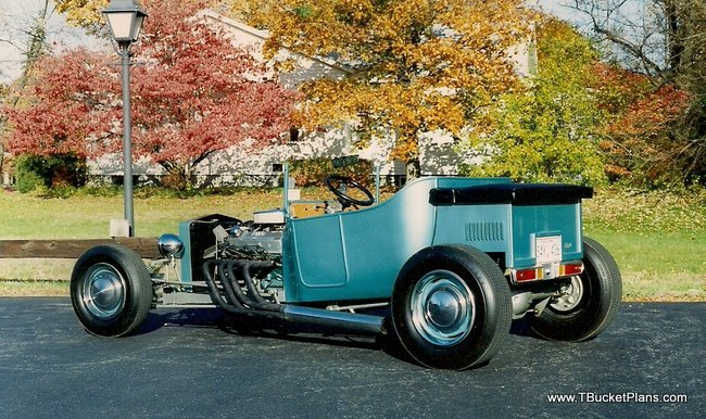 Build a Budget T-Bucket Hot Rod
