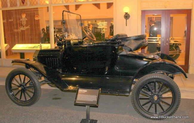 1915 T-Bucket body