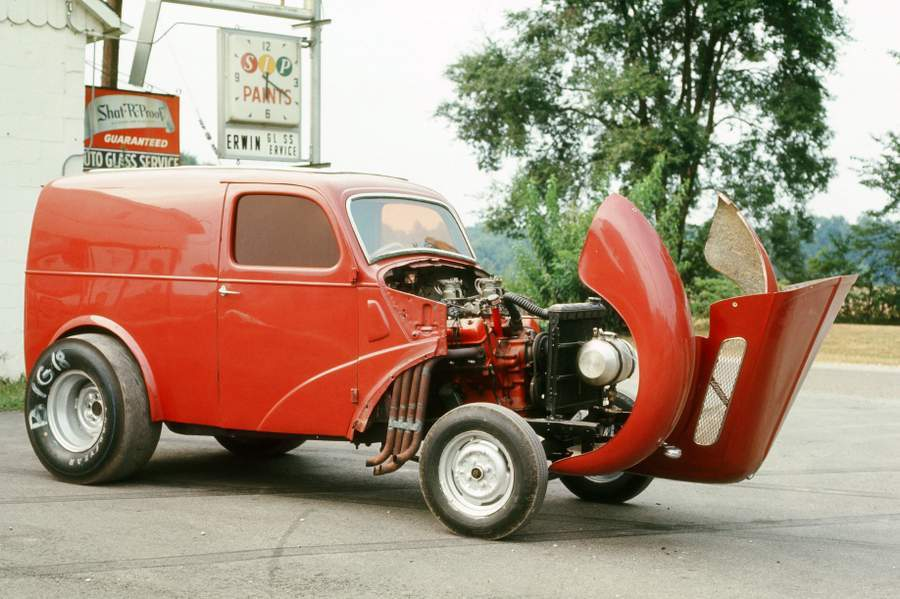 Wandel Brothers Y-Block Ford powered Thames gasser