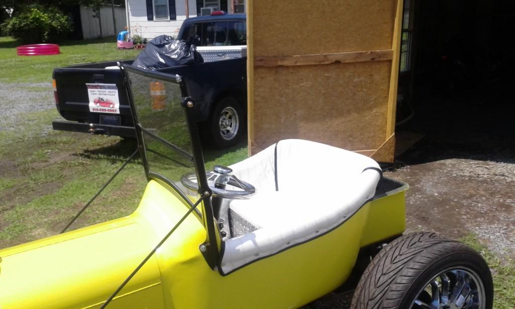 Mini T Bucket Build Larry Matlock