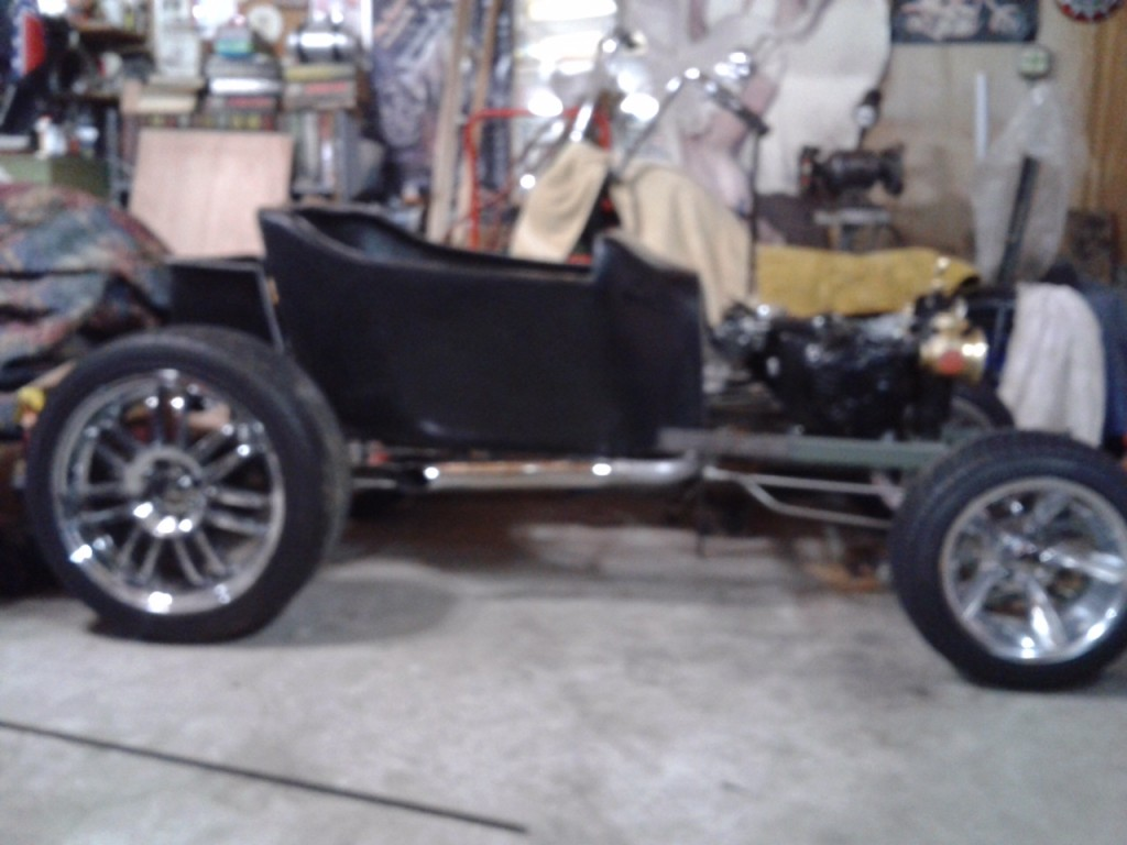 Mini T Bucket Build By Larry Matlock With Harley Power