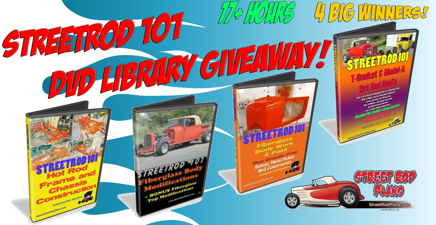 Street Rod 101 DVD Giveaway