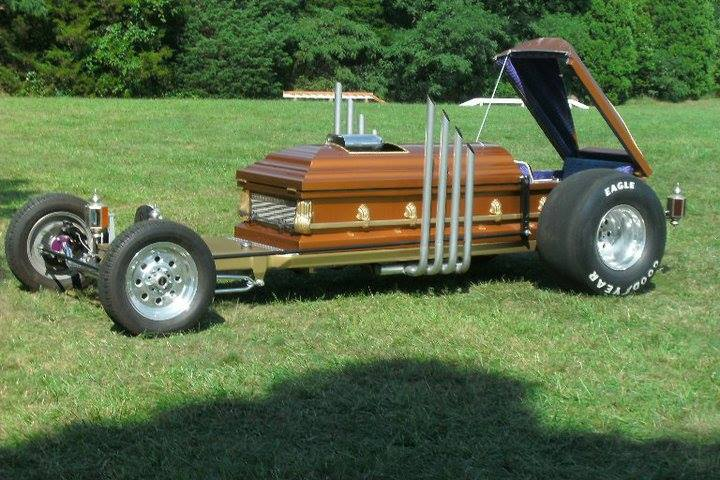 drag u la and the coffin car fascination. Black Bedroom Furniture Sets. Home Design Ideas