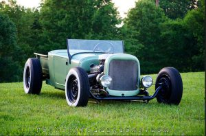 """Built, Not Bought"" Adam's '26 T Roadster Pickup"
