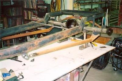 T Bucket rear suspension
