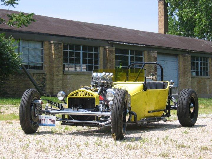 Cotton Werksman T-Bucket