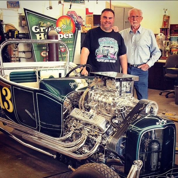 Dave Shuten John Geraghty Grasshopper Roadster