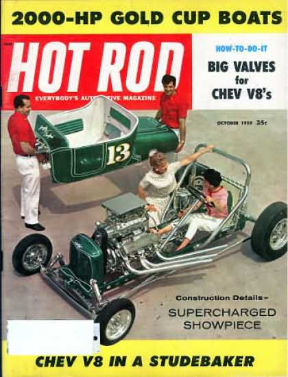 Geraghty Crawford Grasshopper Roadster 1923 T Hot Rod October 1959