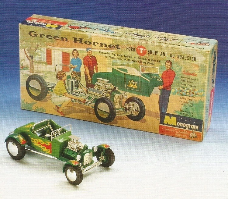 Green Hornet Grasshopper T-Bucket Model Kit