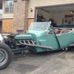 Dave Hiebert's Home Built T Bucket