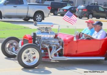 Red T Bucket Roadster Dan Clare