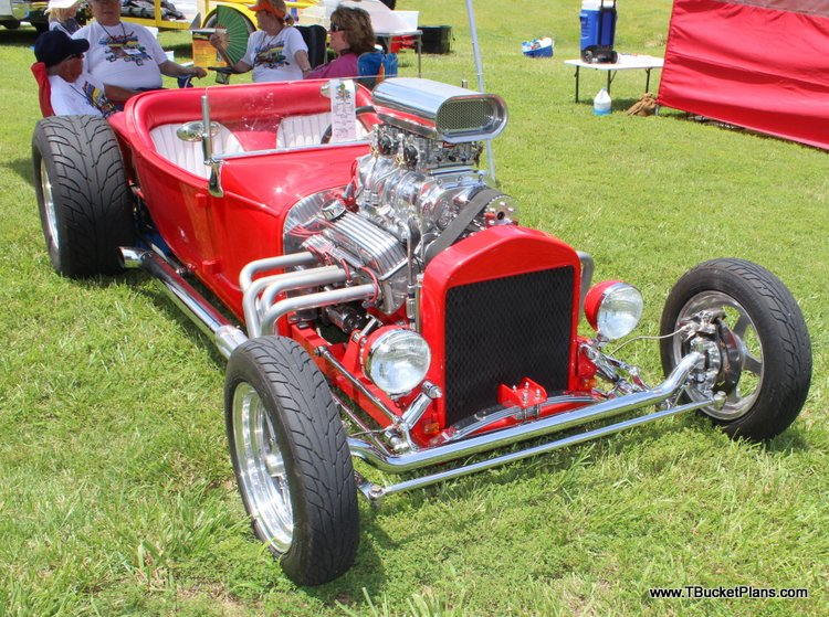 Red T Bucket Roadster Dan Clare