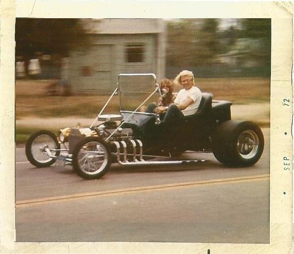 Ted LeDane T-Bucket 1972