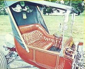 Terry Brown T-Bucket interior