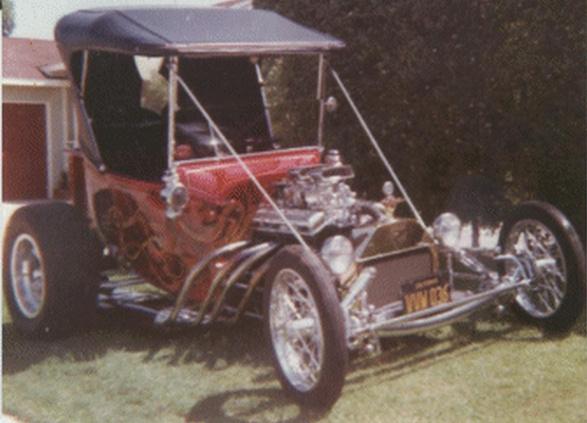 Bob Smith 1923 T-Bucket San Diego Prowlers.