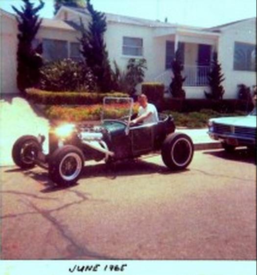 Jim Reid 1927 Ford T-Bucket