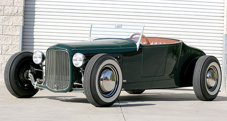 Pete Chapouris 1927 T Roadster