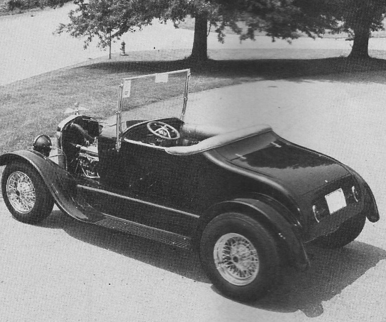 Bob Brown 1927 T roadster
