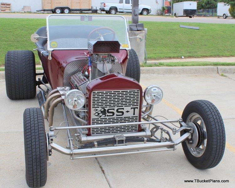 Stainless Steel T-Bucket Winfield Scott