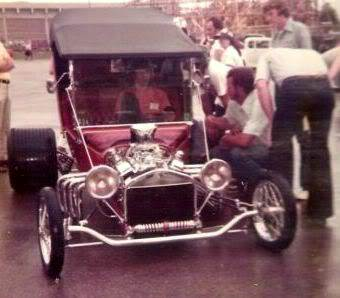 Terry Brown T-Bucket 1975 NSRA Memphis