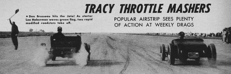 Don Brusseau T-Bucket 1951 Tracy Throttle Mashers