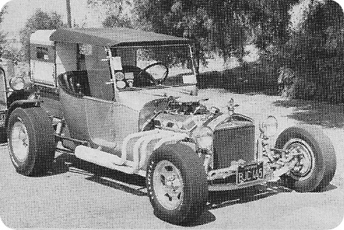 Don Brusseau T-Bucket camper