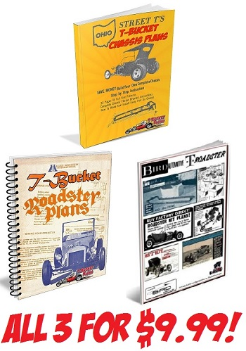 Nostalgic T-Bucket Plans